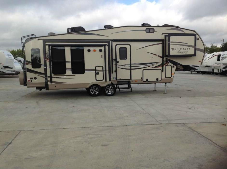 Forest River Rockwood Signature Ultra Lite 8289ws Rvs For