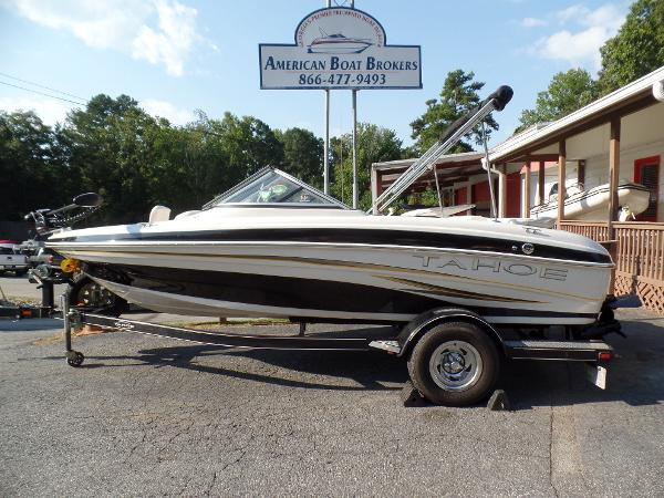 Tahoe q4 ski and fish boats for sale for Fish and ski boats for sale