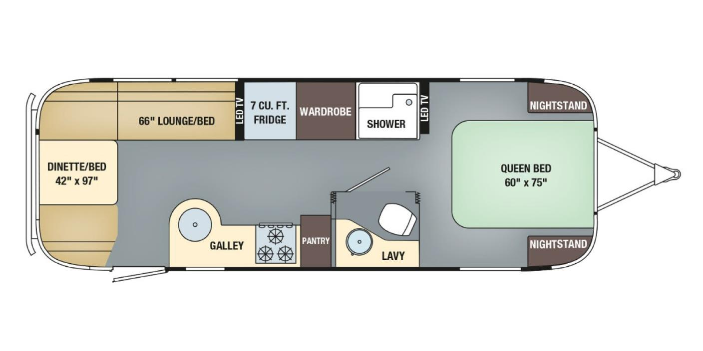 2017 Airstream International Serenity 27FB