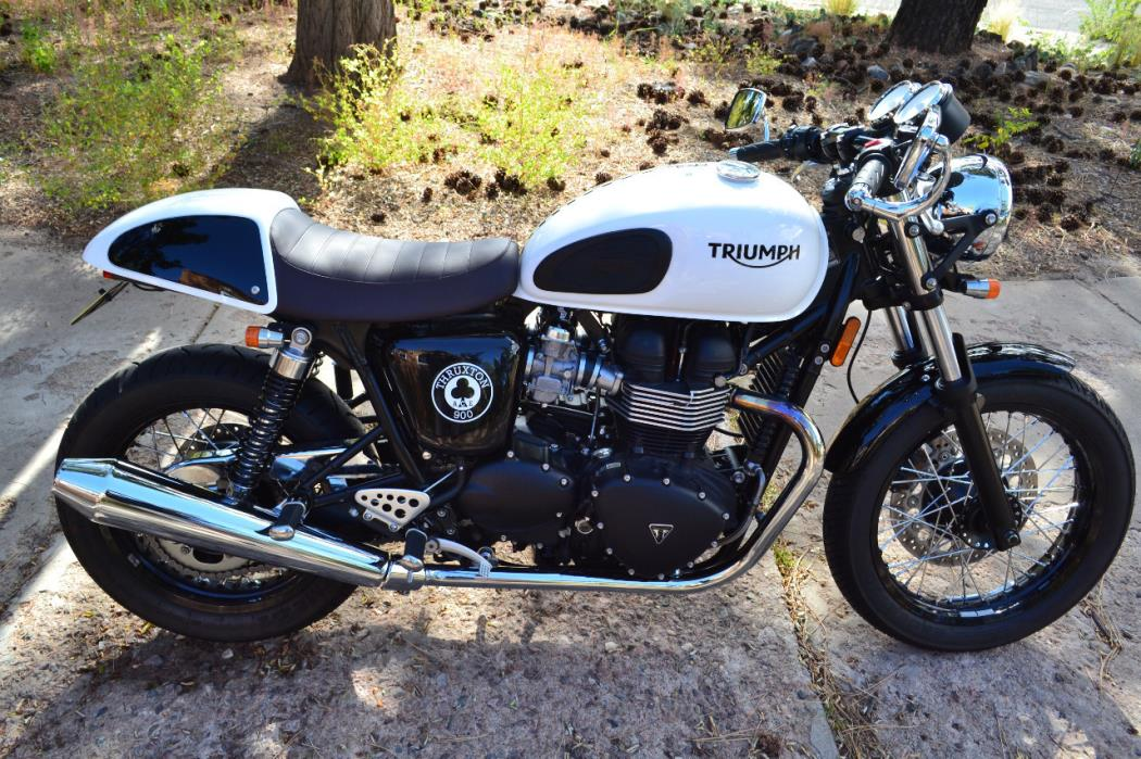 triumph thruxton ace special edition motorcycles for sale. Black Bedroom Furniture Sets. Home Design Ideas