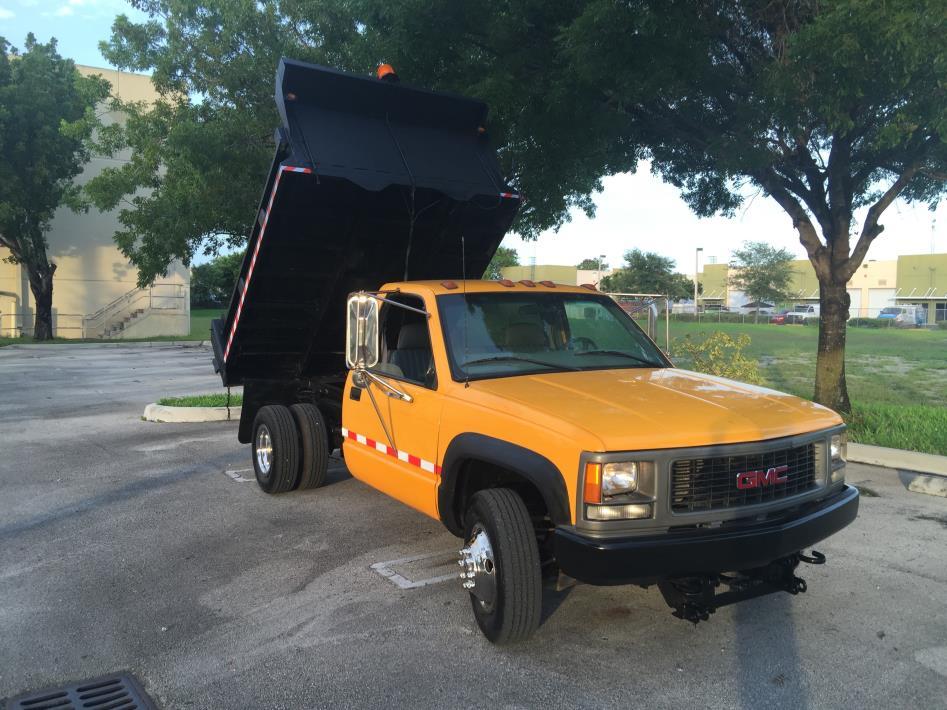 2000 Gmc C3500 Dump Truck