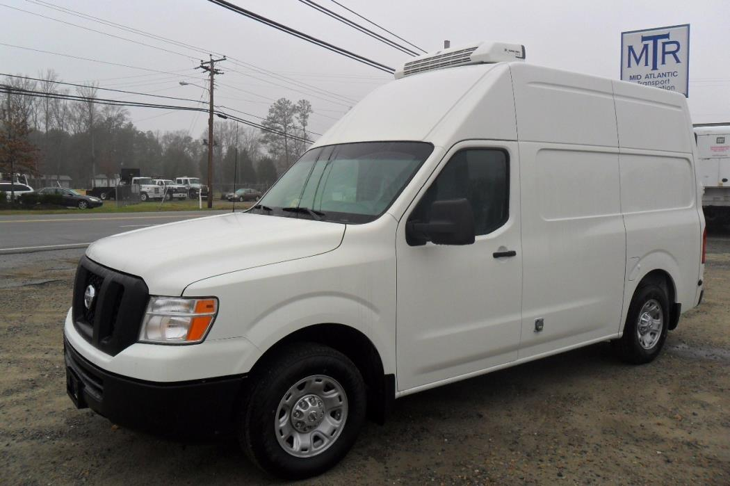 2016 Nissan Nv2500 Refrigerated Truck