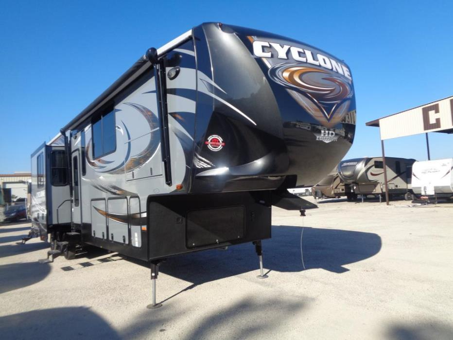 2016 Heartland Cyclone 4150 HD