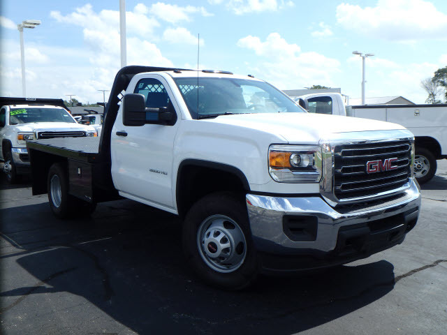 2015 Gmc Sierra 3500hd Cc  Contractor Truck