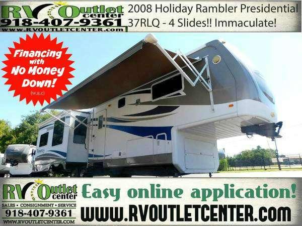 2009 Holiday Rambler Presidential 37SKQ