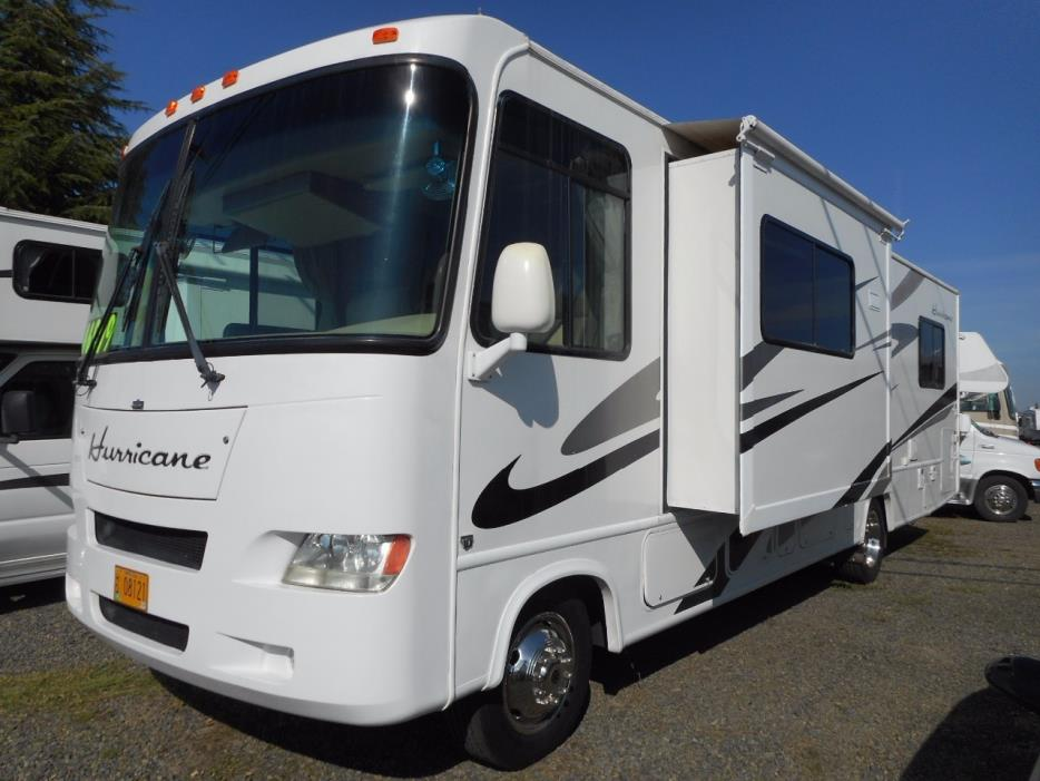 Thor motor coach hurricane 31d rvs for sale for Thor motor coach hurricane