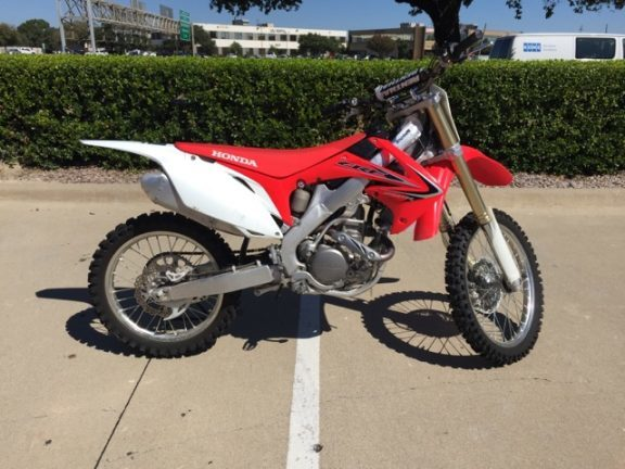 Honda crf 250r motorcycles for sale in dallas texas for Honda motorcycle dealer dallas