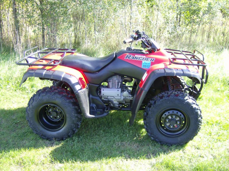 2003 honda rancher 4x4 motorcycles for sale for Honda 420 rancher for sale