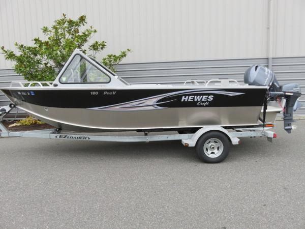 2014 Hewescraft PRO-V EXTENDED TRANSOM