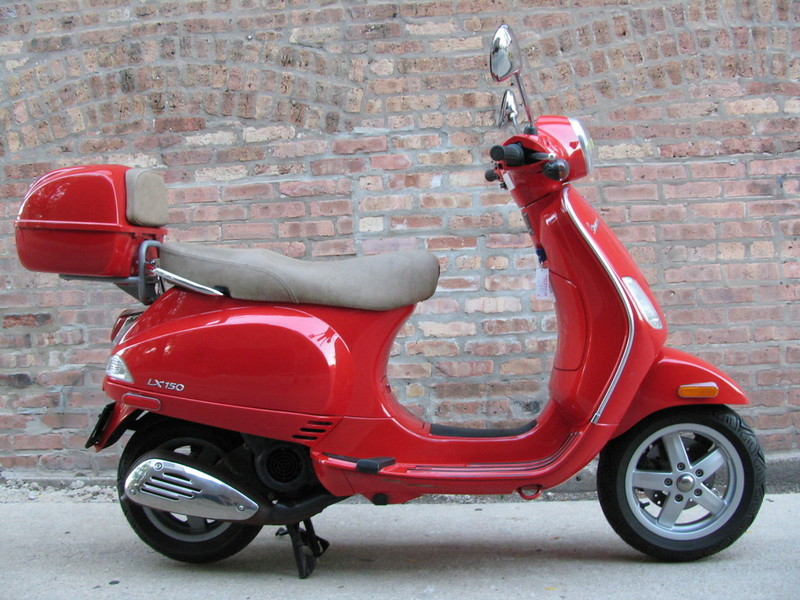 2007 vespa lx150 motorcycles for sale. Black Bedroom Furniture Sets. Home Design Ideas