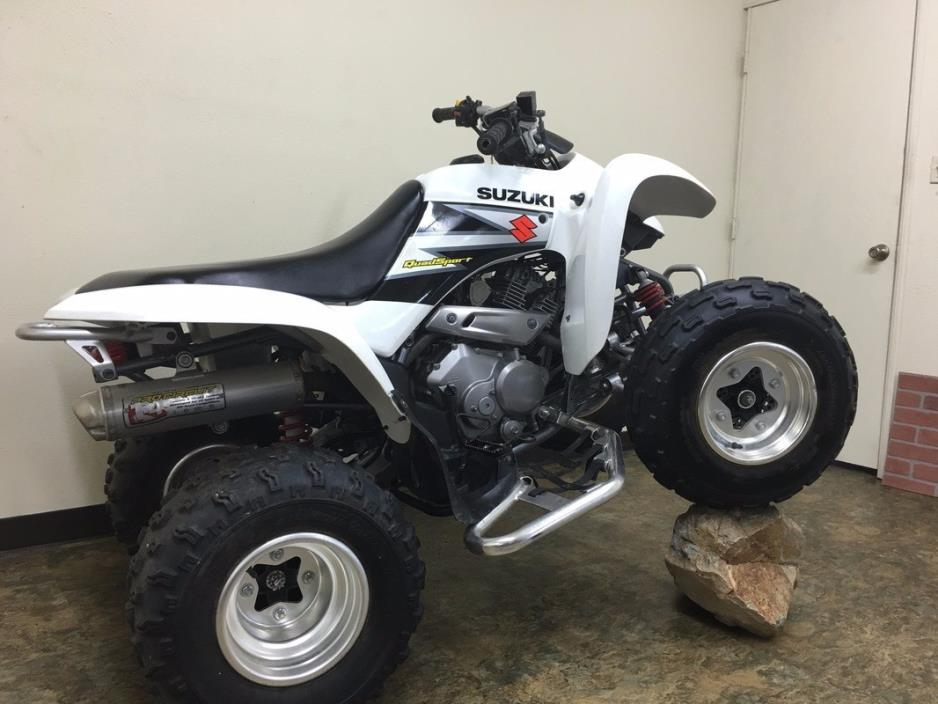 Suzuki Quadrunner  Aftermarket Exhaust