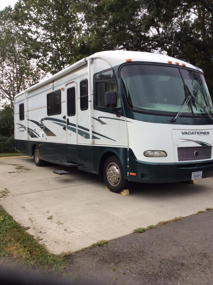 2001 Holiday Rambler VACATIONER 32CG