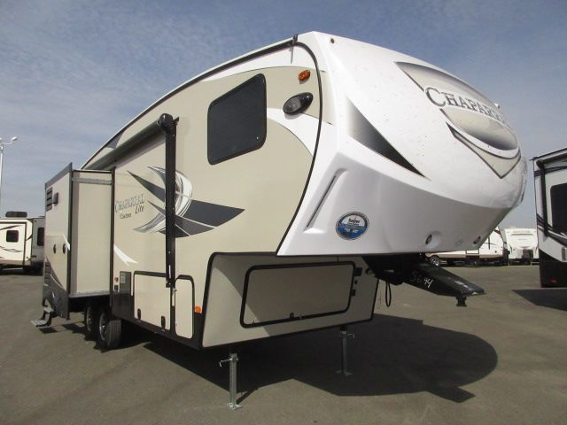 2017 Coachmen CHAPARRAL 28RLS Rear Living/Three Slideo