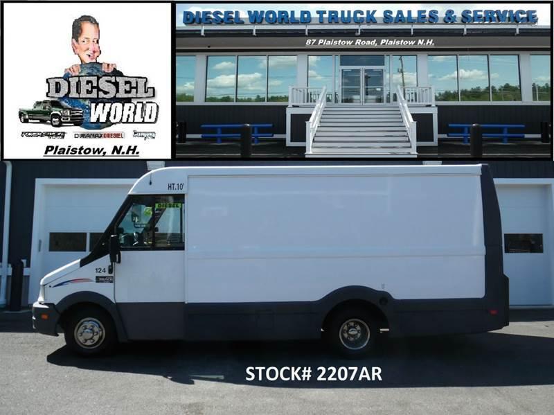 2012 Isuzu Npr  Cargo Van