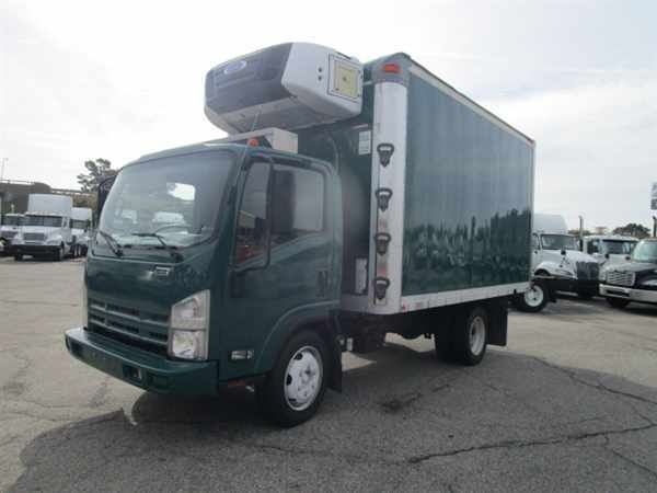 2010 Isuzu Nrr  Refrigerated Truck