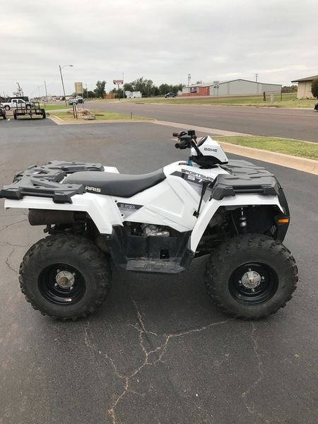 2015 Polaris Sportsman 570 EPS Bright White