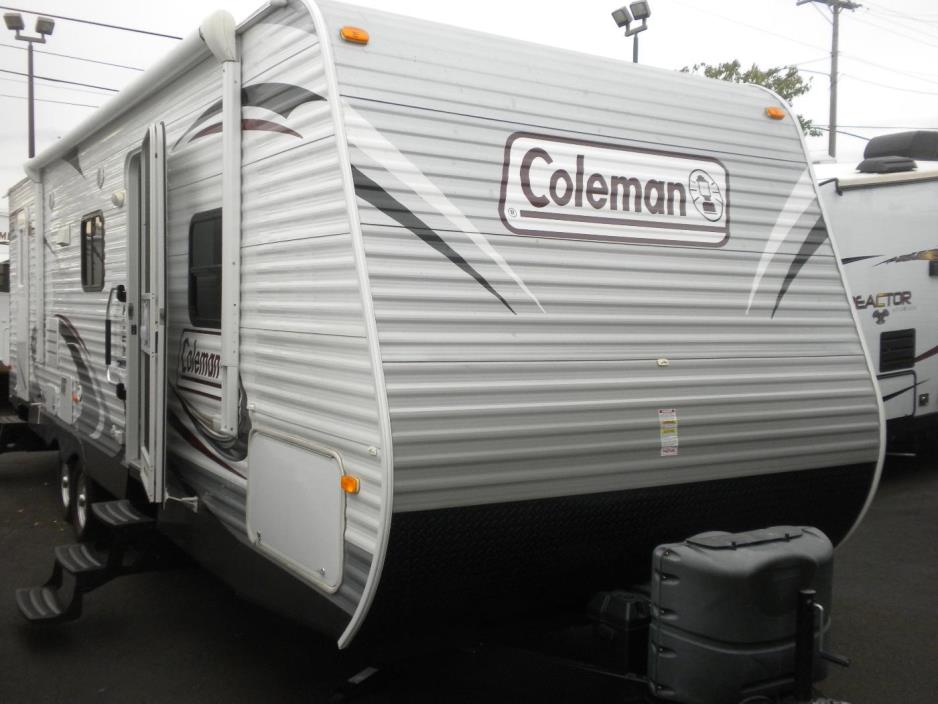 2014 Coleman 262 BUNK HOUSE TRAILER W/ SLIDE