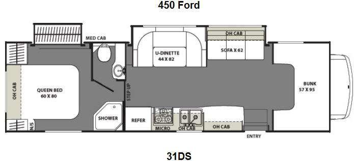 2013 Coachmen Freelander 31DS Ford 450