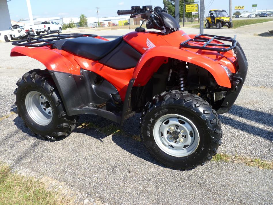 2010 honda rancher 420 motorcycles for sale