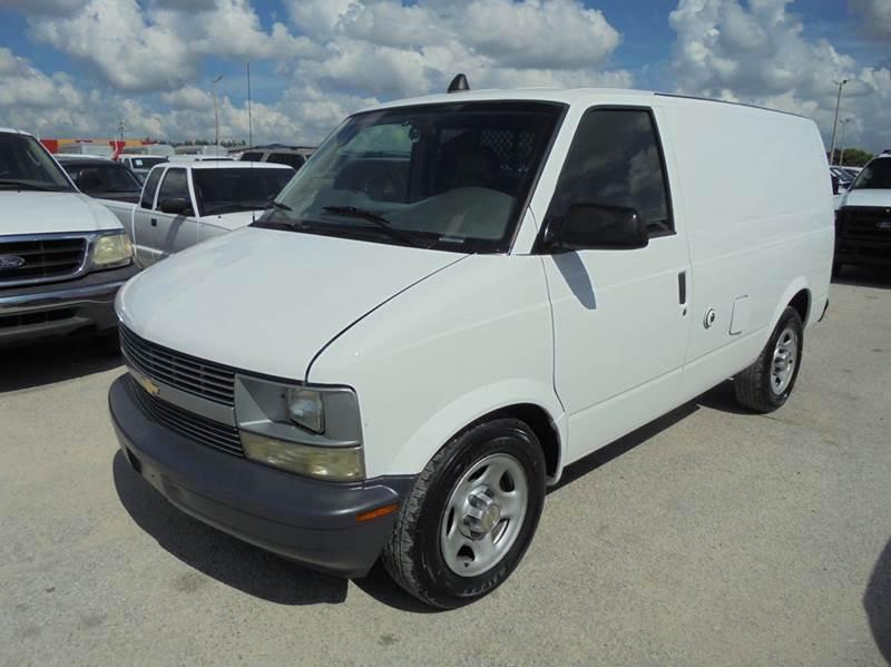 1999 Chevrolet Astro Cargo  Cargo Van
