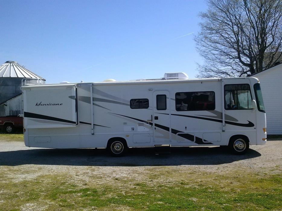 Thor motor coach hurricane 31h rvs for sale for Thor motor coach hurricane