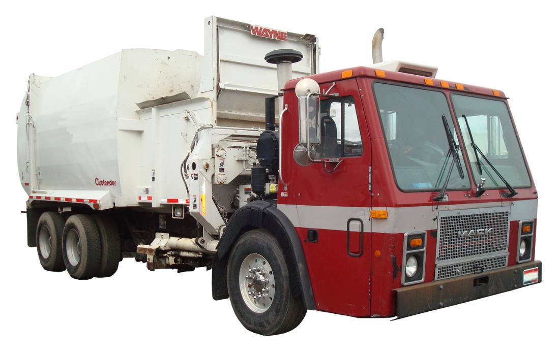 2007 Wayne Curbtender  Garbage Truck