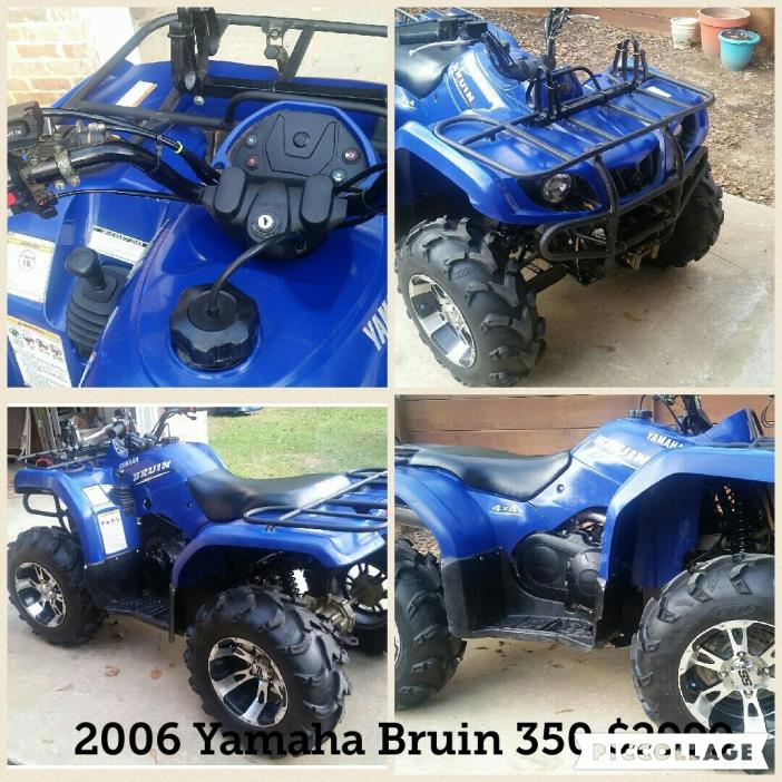 Yamaha motorcycles for sale in phenix city alabama for 2006 yamaha bruin 350