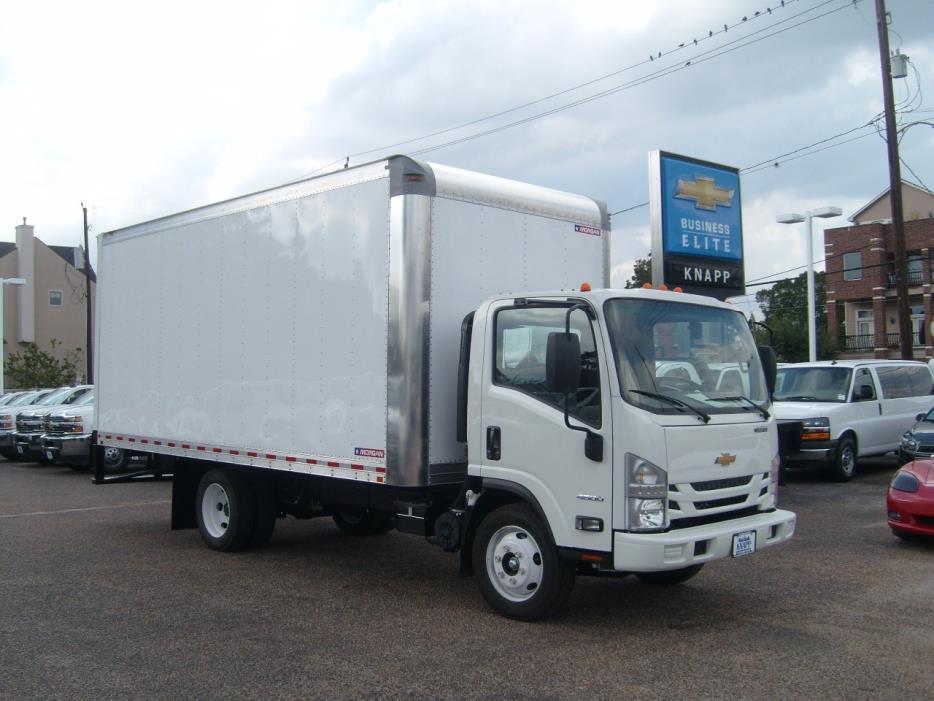 2016 Chevrolet Low Cab Forward 4500 Box Truck - Straight Truck