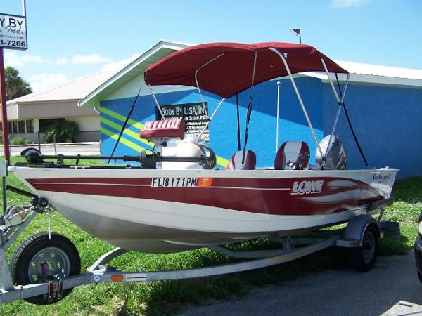 2004 Lowe Sea Nymph Aluminum