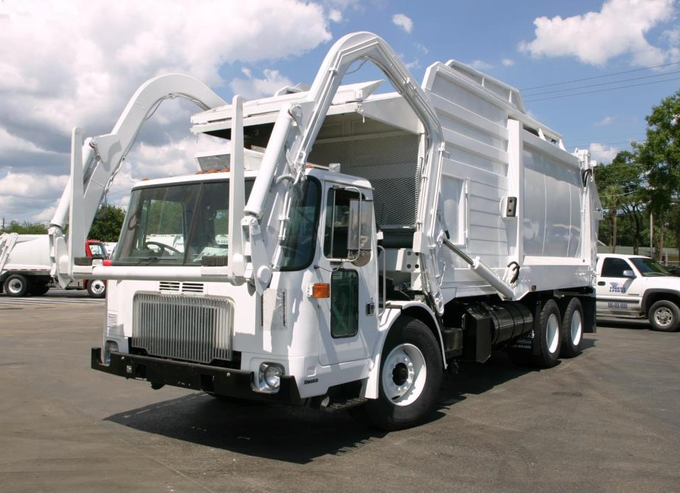 Garbage Truck Power Wheels : Autocar xpeditor cars for sale