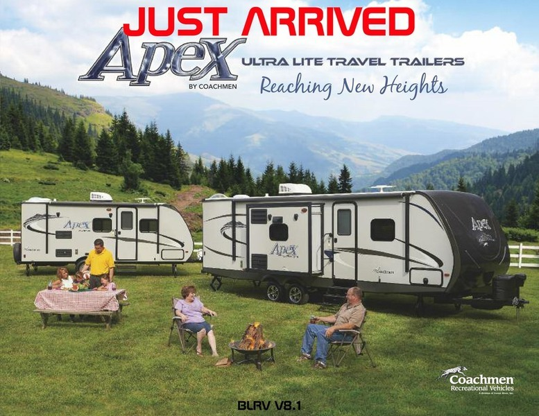 2016 Coachmen Apex 300BHS