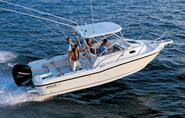 2007 Boston Whaler 235 Conquest