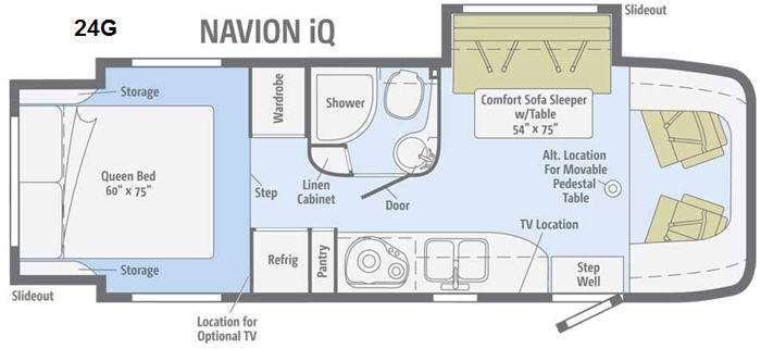 2014 Itasca Navion IQ 24G