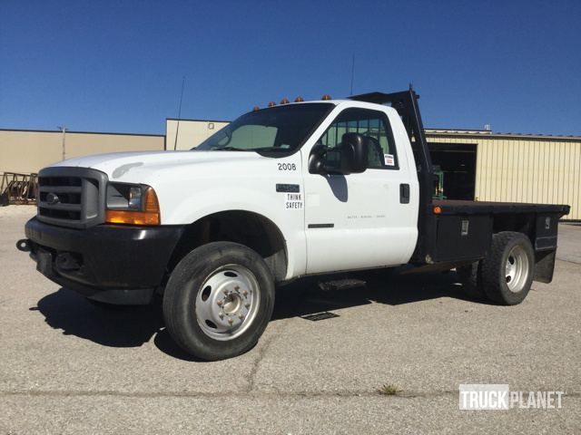 2001 Ford F-450 Super Duty  Flatbed Truck