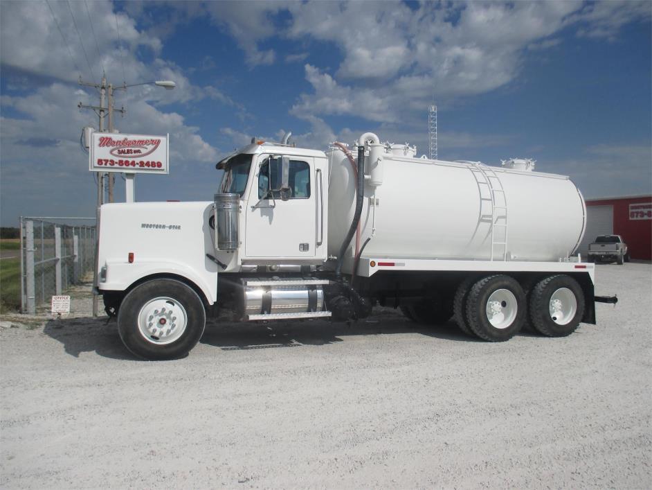 2007 Western Star Wb123064 Vacuum Truck