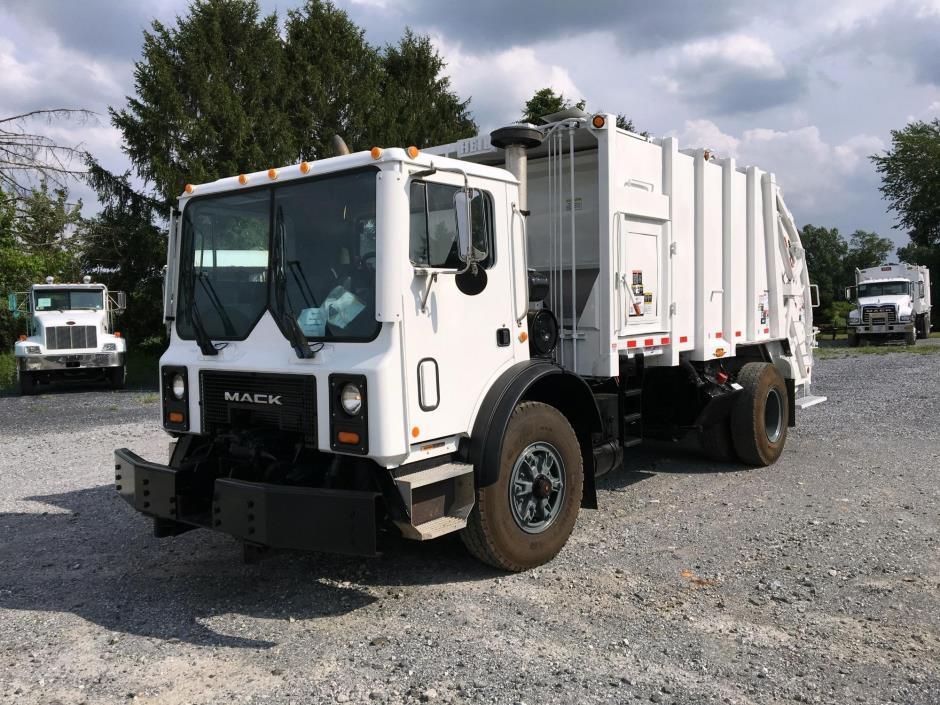 Garbage Truck Power Wheels : Mack mr cars for sale