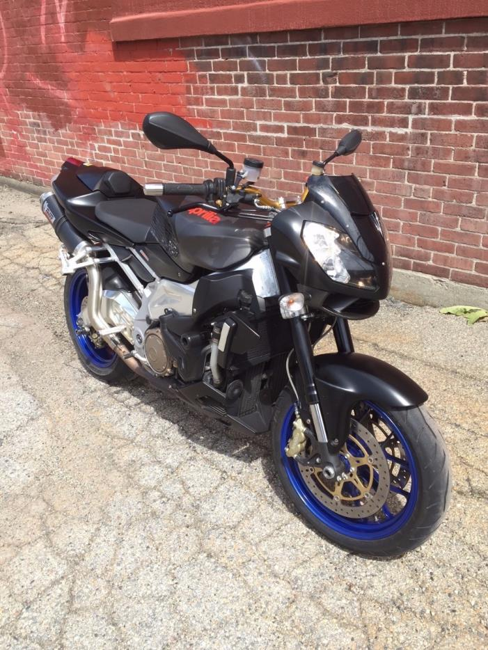aprilia tuono 1000 r motorcycles for sale in rhode island. Black Bedroom Furniture Sets. Home Design Ideas