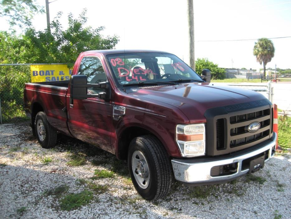 2008 Ford xl regular cab diesel