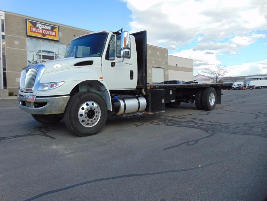 2014 International Durastar 4300 Flatbed Truck