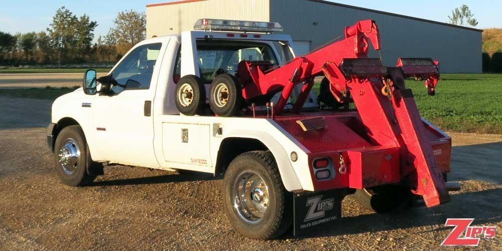 2006 Ford F350 Xl Sd Wrecker Tow Truck