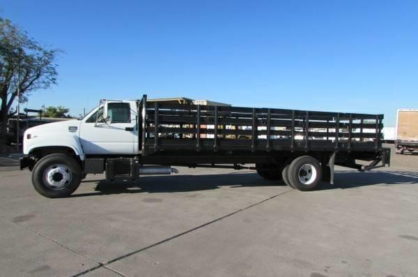 1999 Gmc Topkick C6500 Flatbed Truck