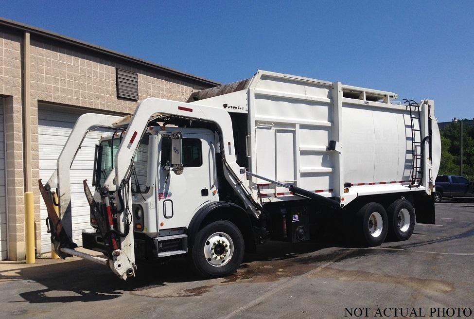 Garbage Truck Power Wheels : Mack mru cars for sale