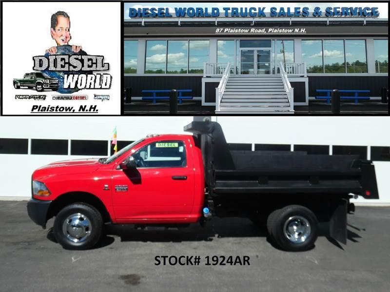 2012 Ram Ram Chassis 3500  Dump Truck