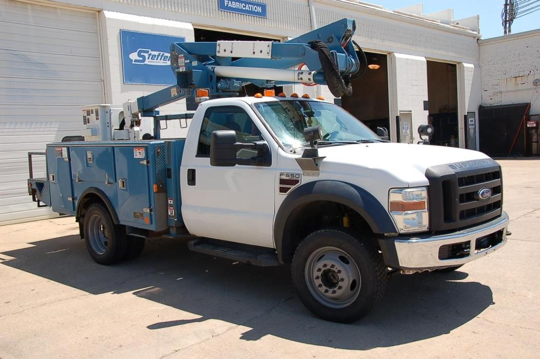 2008 Ford F550 Xl Sd Bucket Truck - Boom Truck
