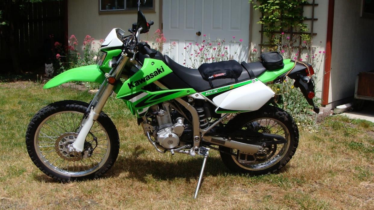 kawasaki klx 250s motorcycles for sale in washington. Black Bedroom Furniture Sets. Home Design Ideas
