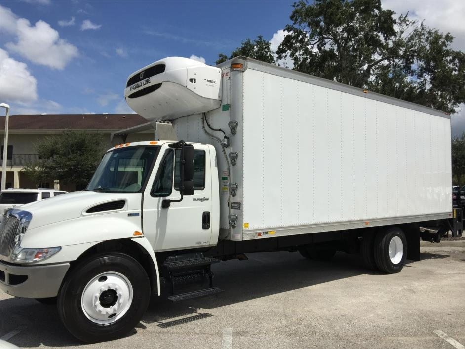 2014 International Durastar 4300  Refrigerated Truck