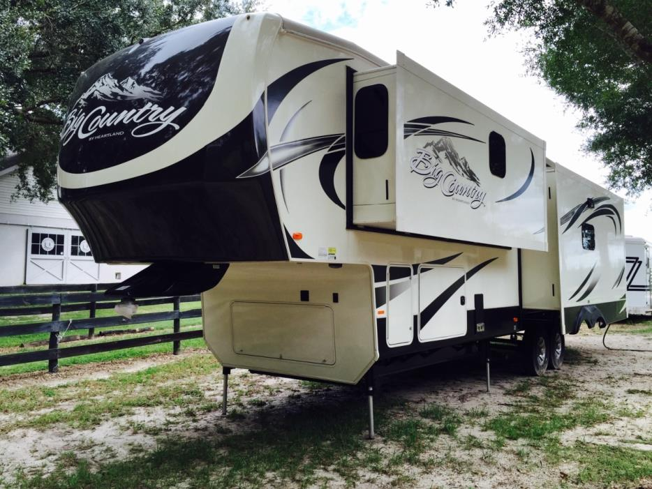 heartland big country 3450ts rvs for sale in florida. Black Bedroom Furniture Sets. Home Design Ideas