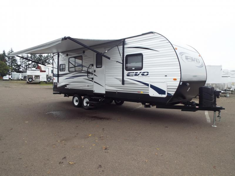 2017 Forest River, Inc. Evo T2360 -Slide Out and Rear Kitchen