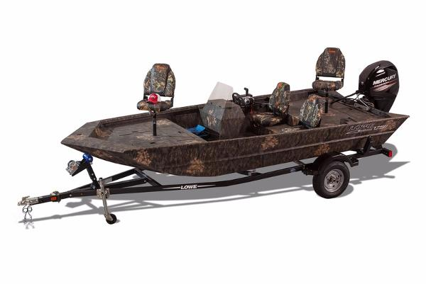 2017 LOWE BOATS Roughneck 1756 SC