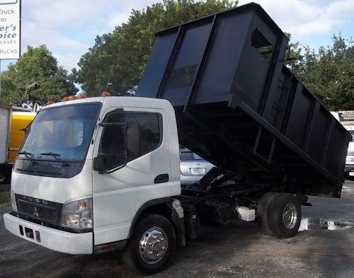 2007 Mitsubishi Fuso Fe84d  Dump Truck